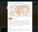 Attractive Forces in States of Matter
