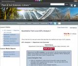 Quantitative Trait Locus (QTL) Analysis 1