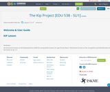 The Kip Project [EDU 538 - SU1]