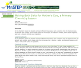 Making Bath Salts for Mother's Day, a Primary Chemistry Lesson