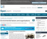 Environmental Factors and Organisations
