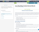 Learn Easy Steps: Conduct Internet Search
