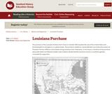 Reading Like a Historian: Louisiana Purchase