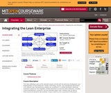 Integrating the Lean Enterprise, Fall 2005