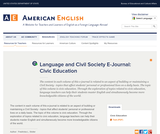 Language & Civil Society: eJournals
