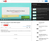 Das Card Layout in Java #GUI-Layout