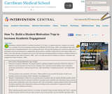 Build a Student Motivation Trap to Increase Academic Engagement