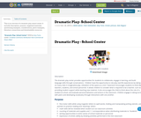 Dramatic Play- School Center