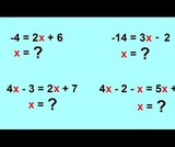 Solving a Linear Equation in One Variable