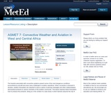 ASMET 7: Convective Weather and Aviation in West and Central Africa