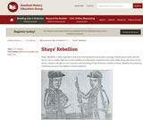 Reading Like a Historian: Shays' Rebellion