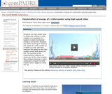 Conservation of Energy of a Rollercoaster Using High Speed Video