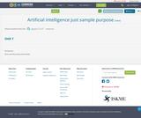 Artificial intelligence  just sample purpose