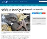 Exploring National Marine Sanctuaries: A Lesson in Habitats and Human Impacts