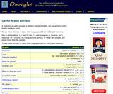 Omniglot Useful Arabic Phrases