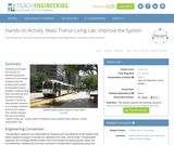 Mass Transit Living Lab: Improve the System