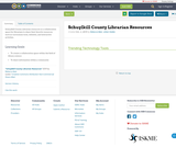 Schuylkill County Librarian Resources