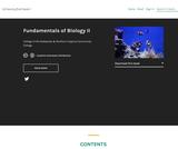 Fundamentals of Biology II