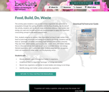 Food, Build, Do, Waste