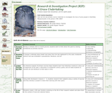 Research and Investigation Project: A Grave Undertaking