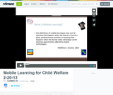 Mobile Learning for Child Welfare