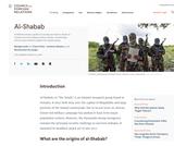 CFR Backgrounder: Al-Shabab