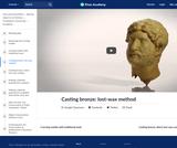 Casting bronze: lost-wax method