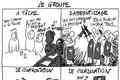 Travail en équipe ou en groupe d'étudiants