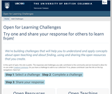 Open for Learning Challenges