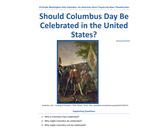 Should Columbus Day Be Celebrated in the United States?