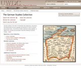 The German Studies Collection