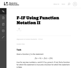 Using Function Notation II