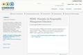 PRME: Principles for Responsible Management Education