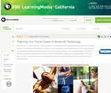 Planning Your Future Career in Advanced Technology