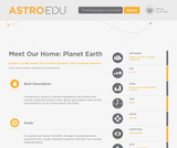 Meet Our Home: Planet Earth