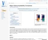 Major Histocompatability Complexes