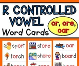 "1st Grade ""OR"", ""OAR"", ""ORE"" Spelling Patterns"