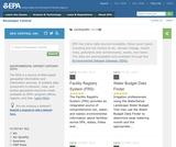 U.S. Environmental Protection Agency Data