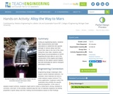 Alloy the Way to Mars