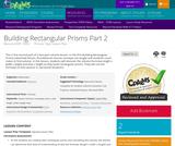 Building Rectangular Prisms Part 2