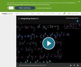Differential Equations: Integrating Factors 2