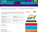 Dividing Fractions (Part 1) - Tackling Word Problems