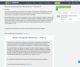 Remote Learning Plan: Macbeth Act 1 | Grade 12