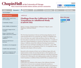 Findings from the California Youth Transitions to Adulthood Study (CalYOUTH)
