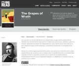 The Grapes of Wrath by John Steinbeck - Reader's Guide (Spanish)