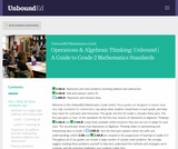 Operations & Algebraic Thinking: Unbound |A Guide to Grade 2 Mathematics Standards