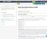 Early United States History to 1865