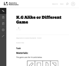 Alike or Different Game