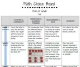 Math Choice Boards: PreK-1st Grade (Fall Edition)