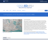Cartography and Visualization